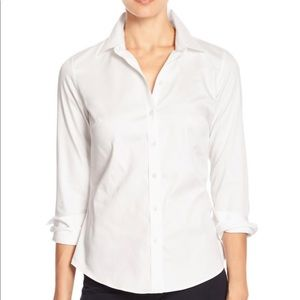 Banana Republic Non Iron Stretch Fitted Shirt